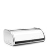 Bread Bin Roll Top - Brilliant Steel