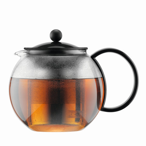 Assam Tea Press S/S Filter 1L - Black