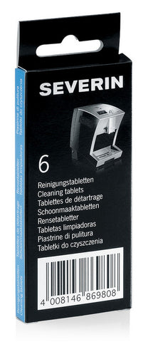 Cleaning Tablets for Severin Automatic Coffee Machines (6pcs)
