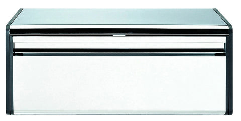 Bread Bin Fall Front - Brilliant Steel