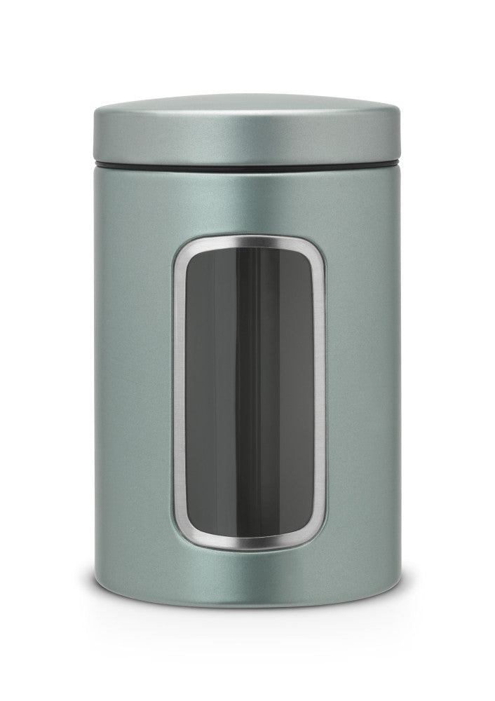 Window Canister 1.4L - Metallic Mint