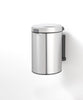 Wall Mounted Bin NewIcon 3 Litre - Matt Steel