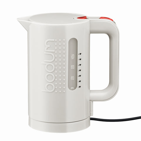Bistro Electric Water Kettle 1L - White