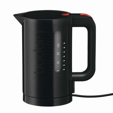 Bistro Electric Water Kettle 1L - Black
