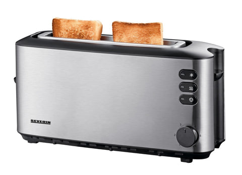 Toaster, Long Slot 2-slice Inox
