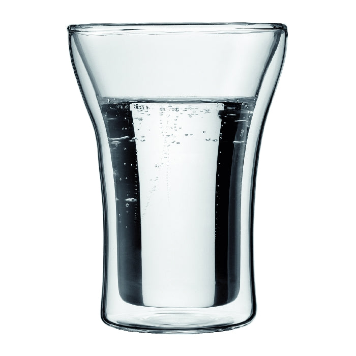 Assam Double Wall Glass Medium 0.25L (2pc Set)