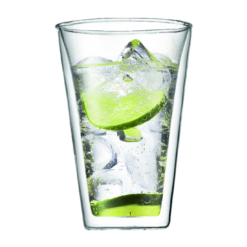 Canteen Double Wall Glass 0.4L (2pc Set)