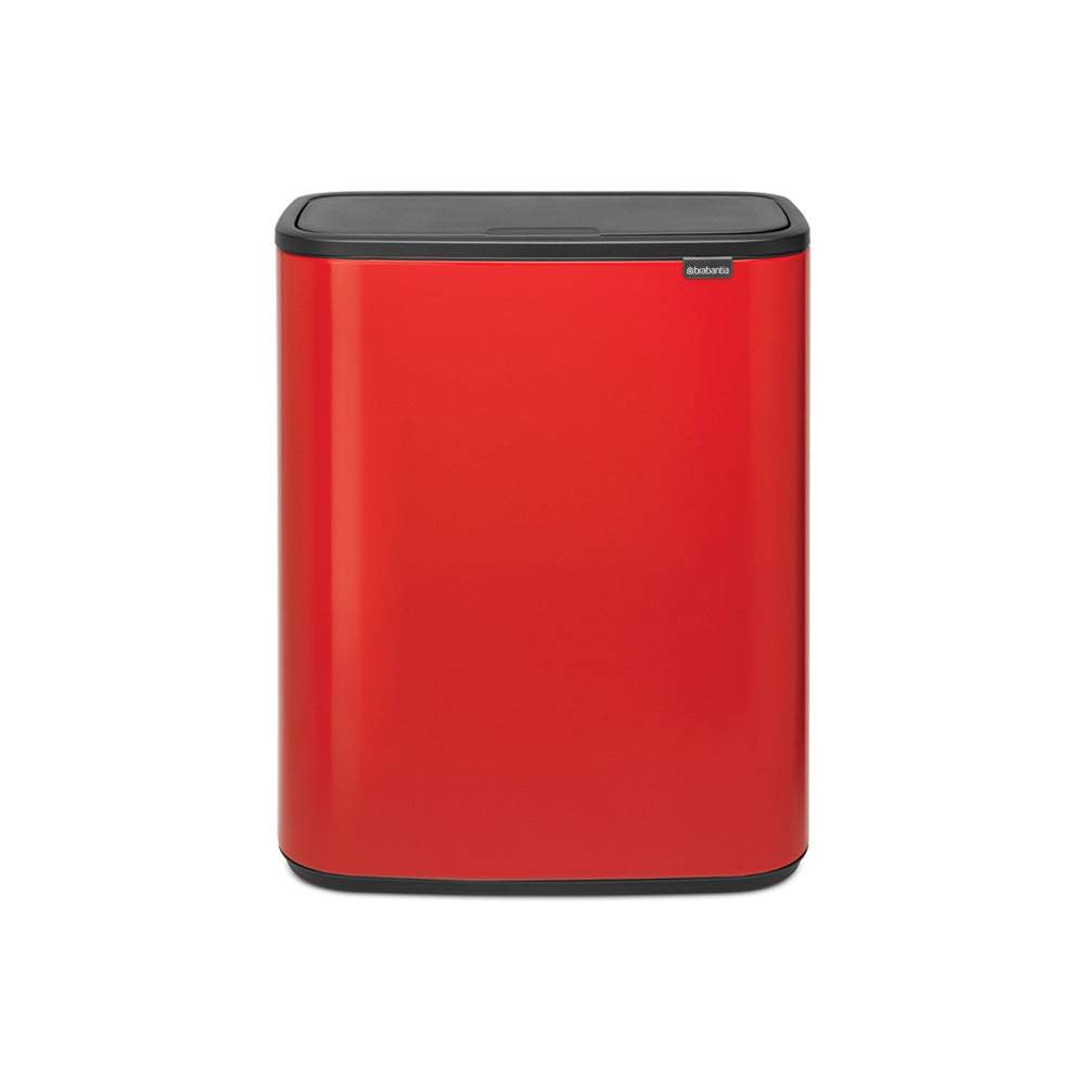 Bo Touch Bin 2 x 30 litre - Passion Red