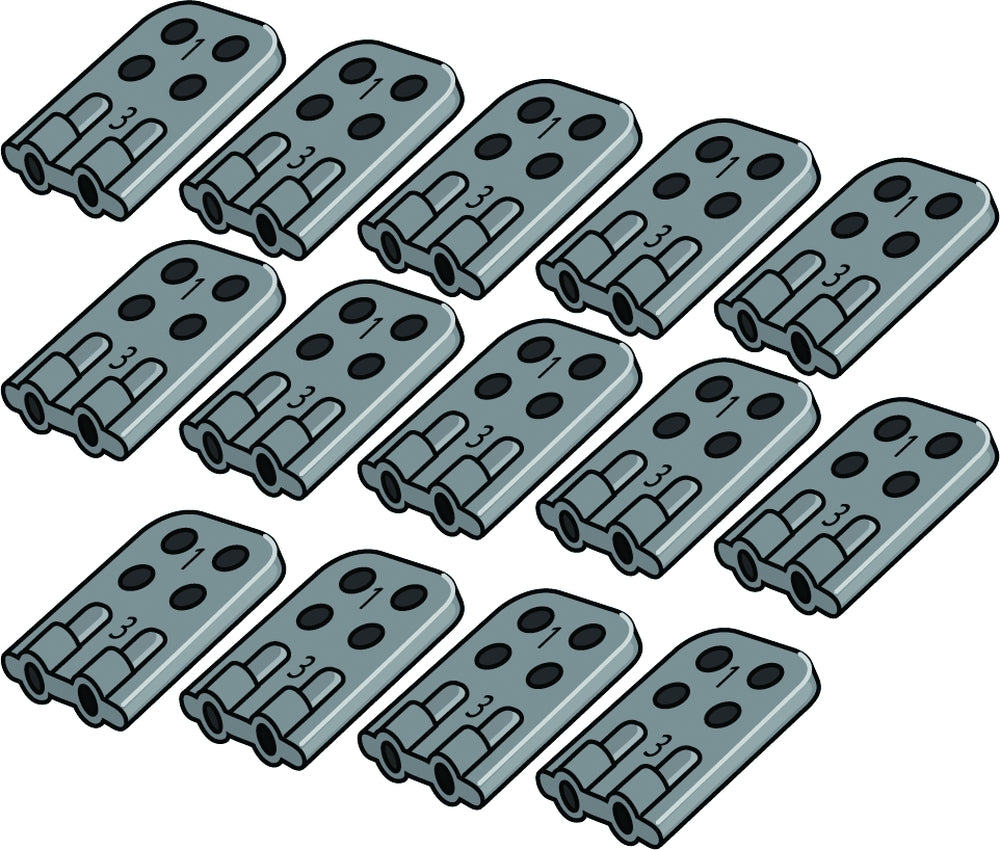 Replacement Line Connector Set of 16
