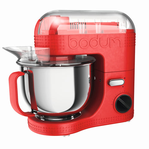 Bistro Electric Stand Mixer 4.7L - Red