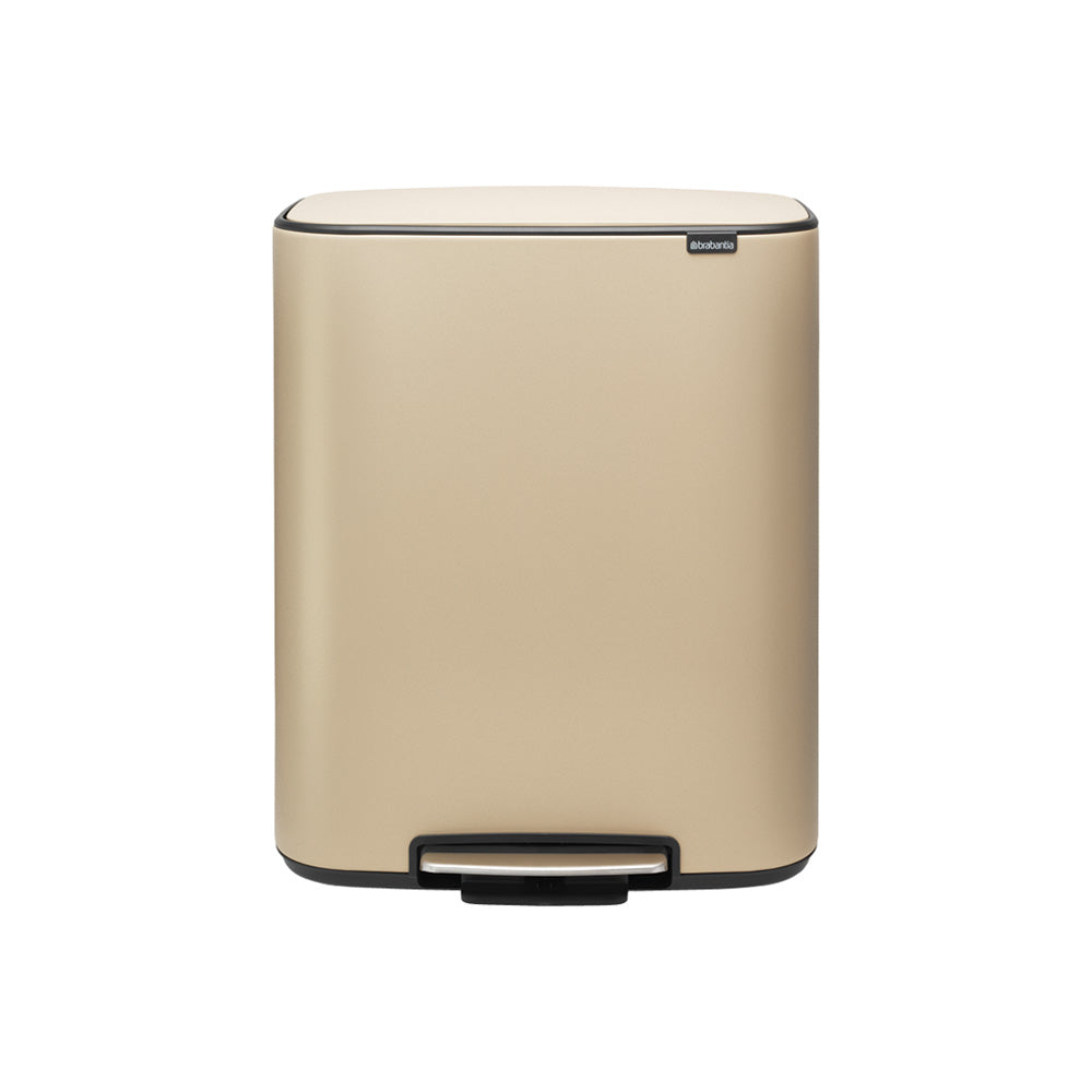 Bo Pedal Bin 2 x 30 litre - Golden Beach
