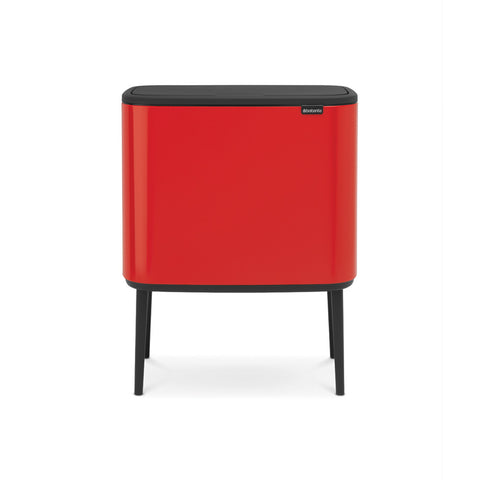 Bo Touch Bin 11 + 23 litre - Passion Red