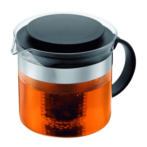 Bistro Nouveau Tea Pot 1 litre - Black