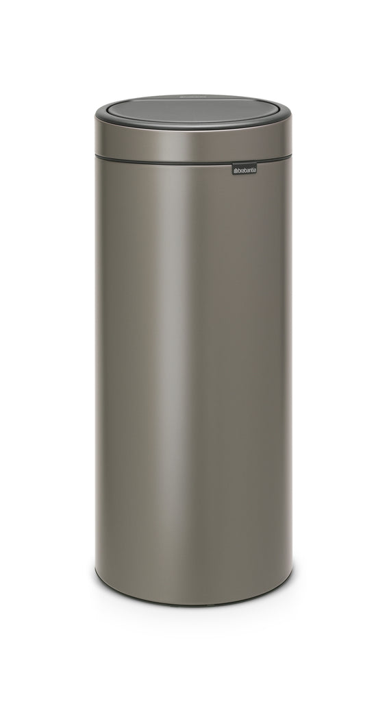 Touch Bin New 30 litre - Platinum