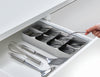 DrawerStore™ Cutlery Organiser Large Grey