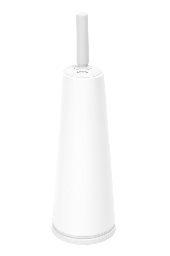 Toilet Brush & Holder - White