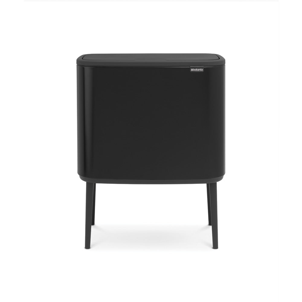 Bo Touch Bin 11 + 23 Litre - Matt Black