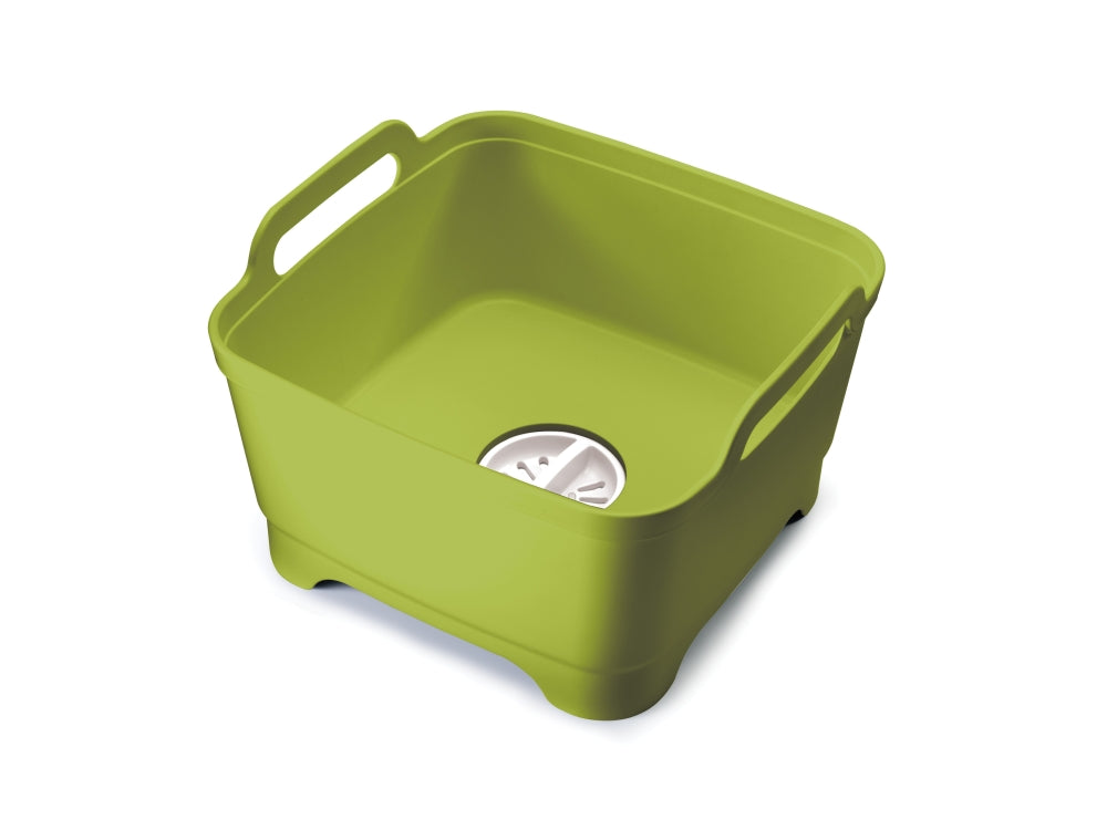 Wash&Drain Washing Up Bowl - Green