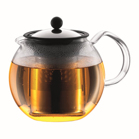 Assam Tea Press S/S Filter 1.5L - Chrome