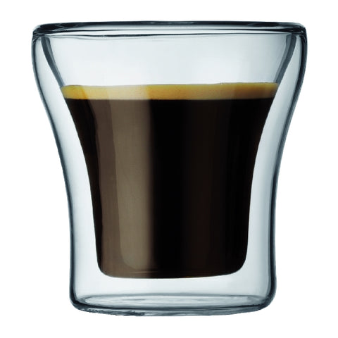 Assam Double Wall Espresso Glass 0.1L (2pc Set)