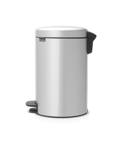 Pedal Bin NewIcon 12 Litre - Metallic Grey