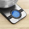 Digital Kitchen Scale, Rectangular - Matt Steel
