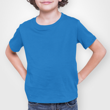 Load image into Gallery viewer, Kids' Blue Short Sleeve T-Shirt