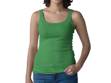 Load image into Gallery viewer, Green Women's Racerback Tank Top
