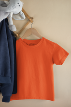 Load image into Gallery viewer, Kids' Orange Short Sleeve T-Shirt
