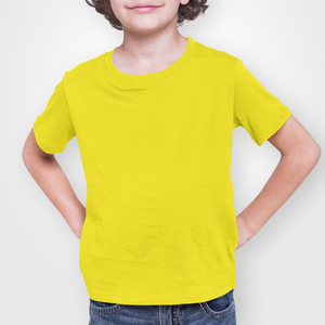 Kids' Yellow Short Sleeve T-Shirt