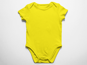 Baby Yellow  Onesie