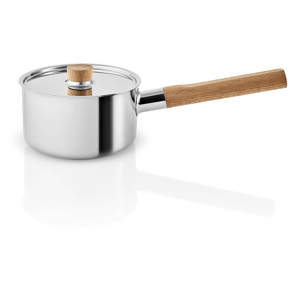 Eva Solo Nordic Kitchen Stainless Steel Saucepan<br>自然歐風不鏽鋼木柄湯鍋