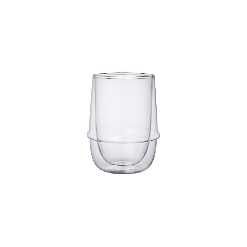 Kinto Kronos Double Wall Iced Tea Glass <br> 雙壁耐熱玻璃冰茶杯