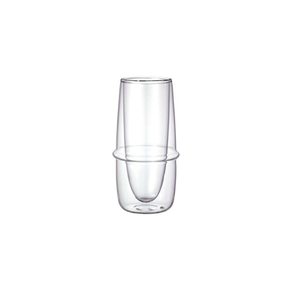 Kinto Kronos Double Wall Champagne Glass <br> 雙壁耐熱玻璃香檳杯<br>(預購-2週)