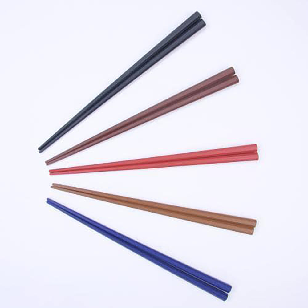 ASAHIKOYO Heat-Resistant Hexagon Chopstick 5 chopsticks <br>日本製耐熱禪宗5色樹脂六角筷子
