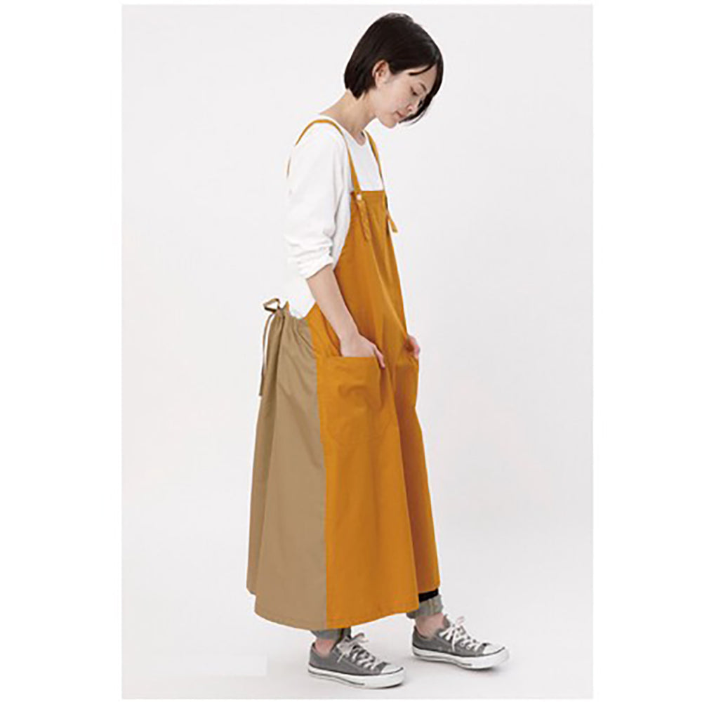 Cocowalk Bi-Color Waist Gather Apron<br>日本製 雙色圍裙(2色)