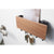 Yamazaki Home Brown Rin Magnetic Key Rack with Tray <br> 磁貼鑰匙架<br>(預購-2週)