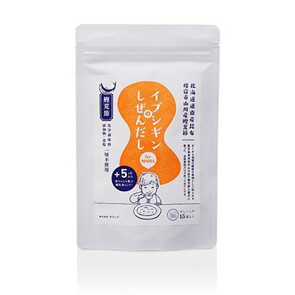 ORIDGE Kumbo Bonito Salt-Free Seasoning (Stock Powder Packet)<br>無食鹽昆布柴魚粉湯包