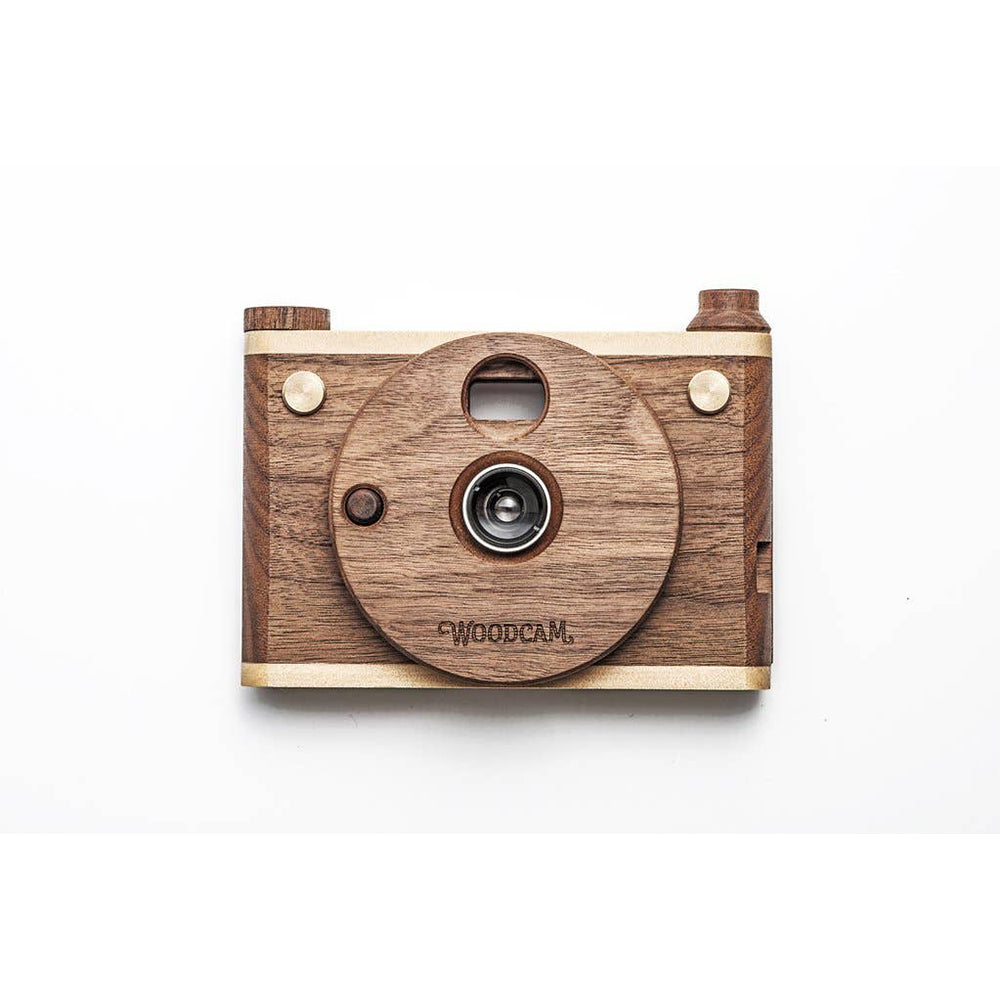 Father's Factory Wooden Digital Camera - Single Lens Full HD <br> 單鏡木製數碼相機