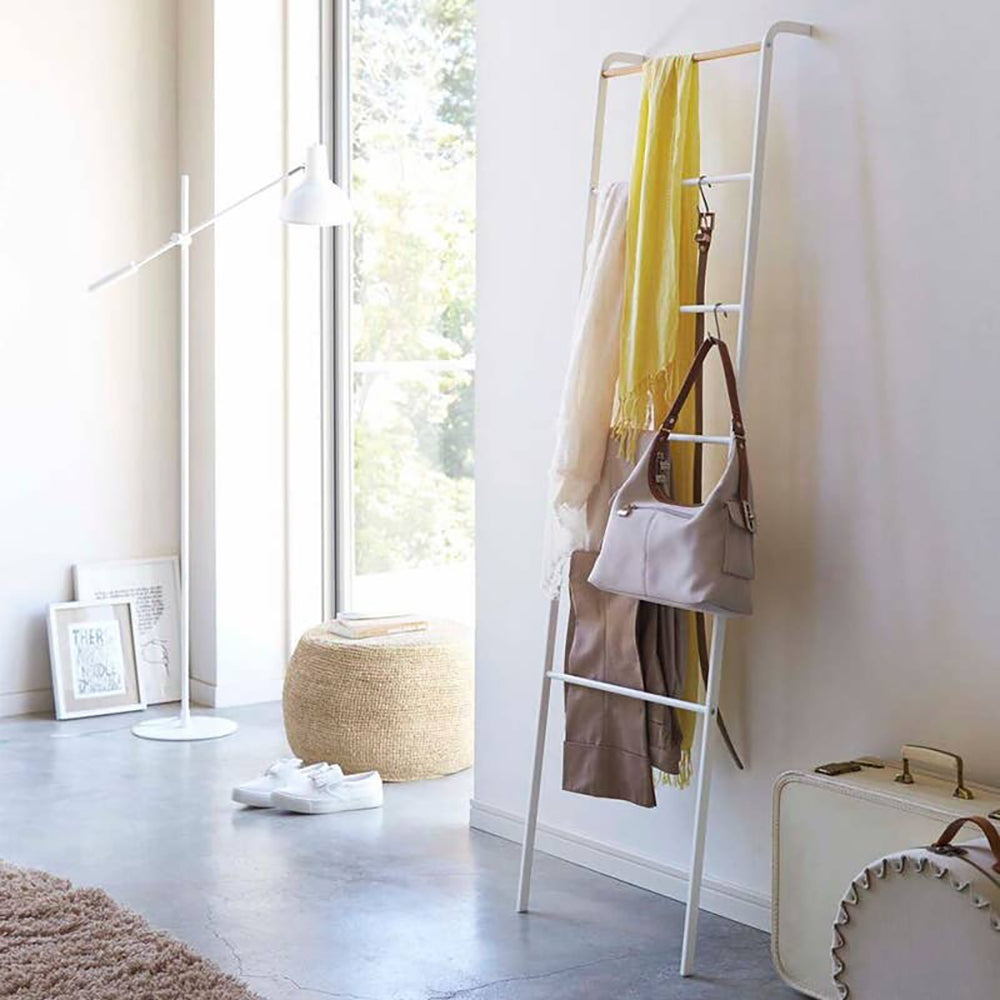 Yamazaki Home Tower Leaning Ladder Hanger <br> 斜梯衣物架