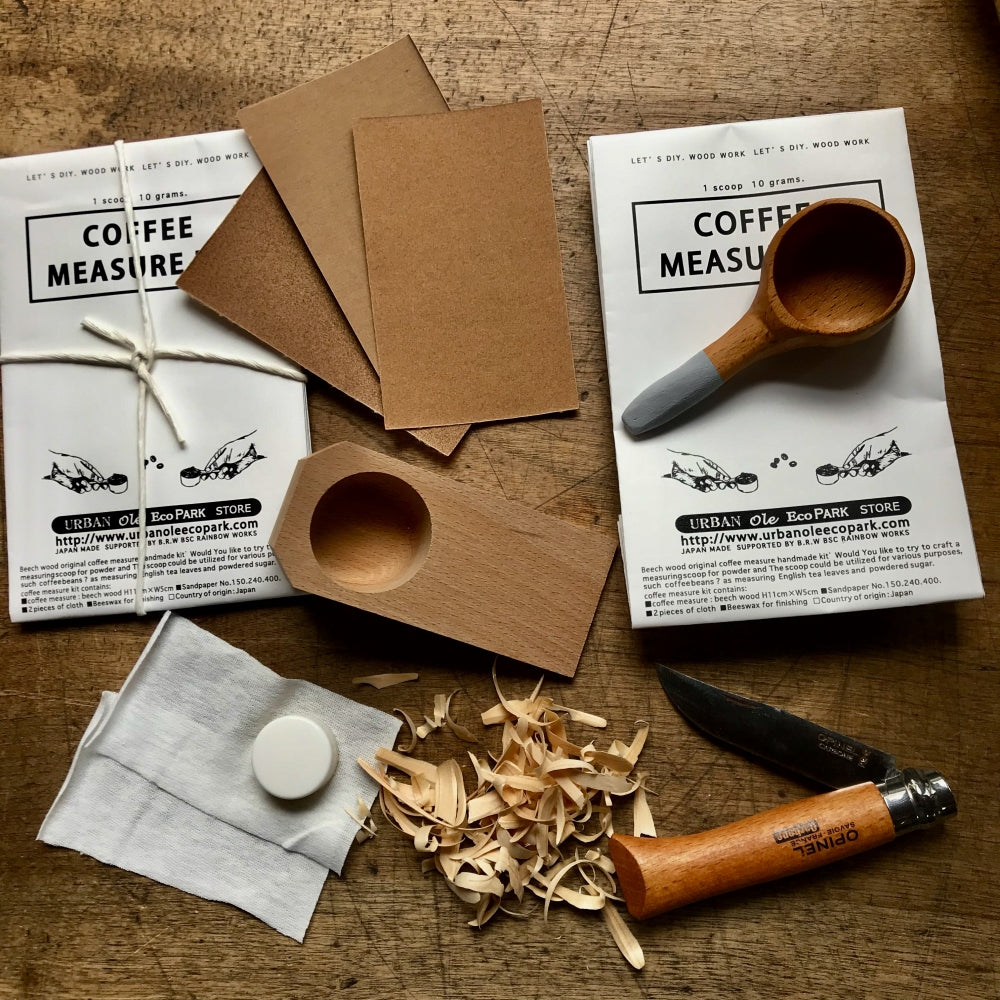 URBAN ole ecopark MY COFFEE MEASURE KIT <br>日本手工DIY 我的咖啡測量套件