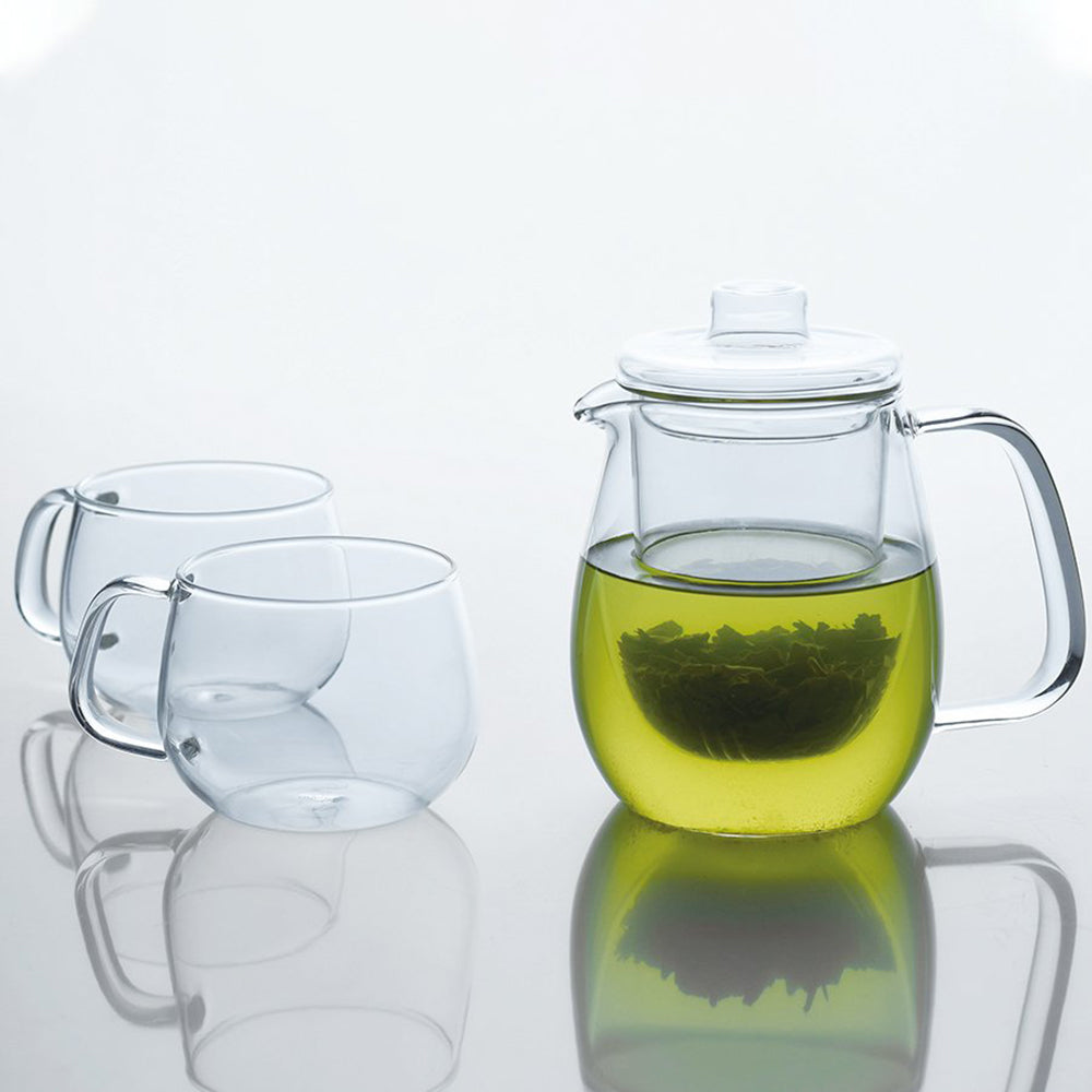 Kinto Unitea Teapot - Glass Set <br> 耐熱玻璃茶壺-玻璃款