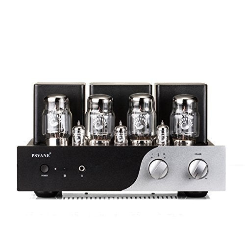 PSVANE KT88 Integrated Push-pull Vacumn Tube Amplifier, Headphone Output Supported,with Remote control