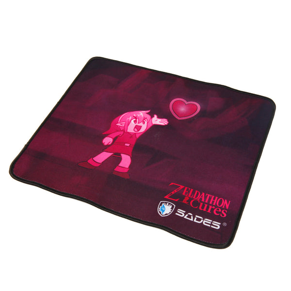 SADES Go4zelda Zeldathon Cures Gaming Mouse Pad ( 12X10 inches)