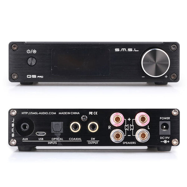 SMSL Q5 Pro(black) Audio Component Amplifier