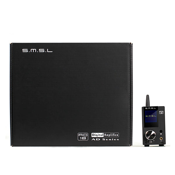 SMSL AD18 80Wx2 Bluetooth 4.2 HIFI USB DSP Full Digital Decoding Power Amplifier Optical Coaxial Input