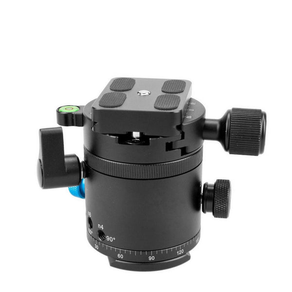Gemtune DH-55 Panoramic Ball Head with Indexing Rotator, With Quick Release Plate &Clamp.