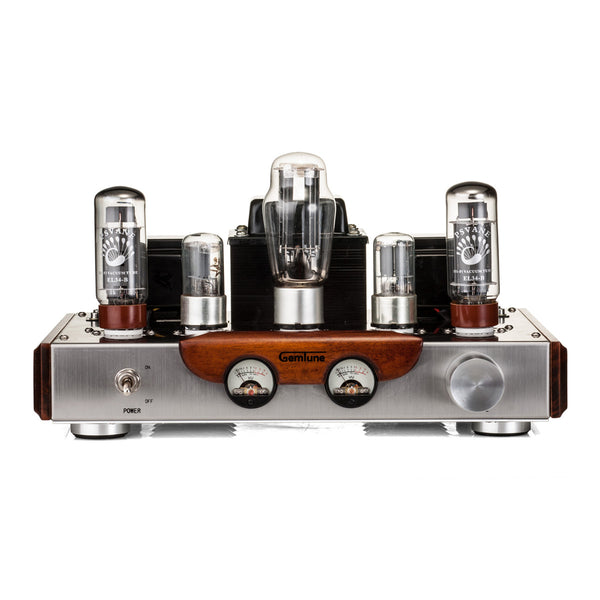 GemTune GS-01 Hi-Fi Tube Amplifier with VU meter Tubes: EL34*2 + 6N8P*2 +5Z3P*1
