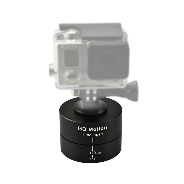 Gemtune LT-003 360° 120 minites Rotating Tripod Time Lapse Stabilizer for Gopro/phone/digital camera
