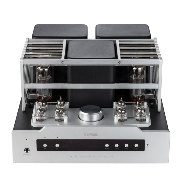 Gemtune MS-30L EL34B Hi-Fi Integrated Push-Pull Tube Amplifier with Remote Control, Headphone Output